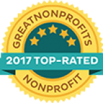 SWFHR - 2017 Top-Rated Badge from Greatnonprofits.org