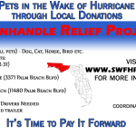 Panhandle Relief Project – update